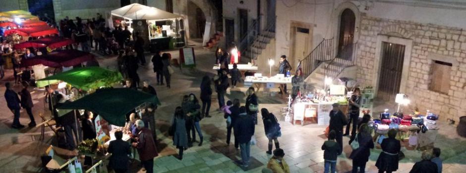 META, edizione serale in via Dalfino a Sammichele di Bari