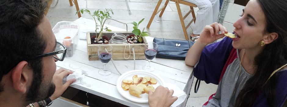 META, pub contadino, patatine fritte naturali