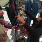 la sistemazione degli abiti