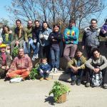 il gruppo di esploratori del bosco di Sciusio