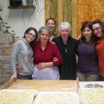 la squadra del workshop di pasta fatta in casa